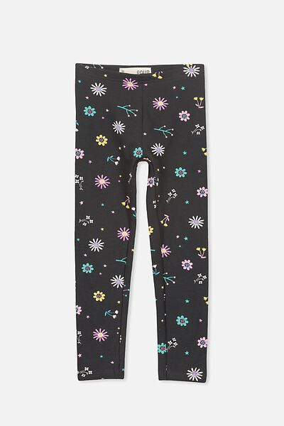 Huggie Tights, PHANTOM/FOCAL FLORAL