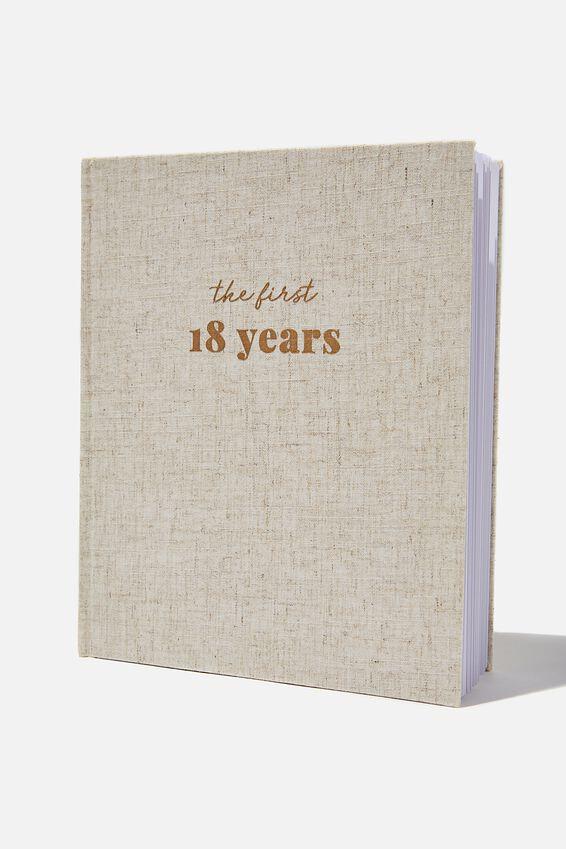 Baby Book, 18 YEARS GREY