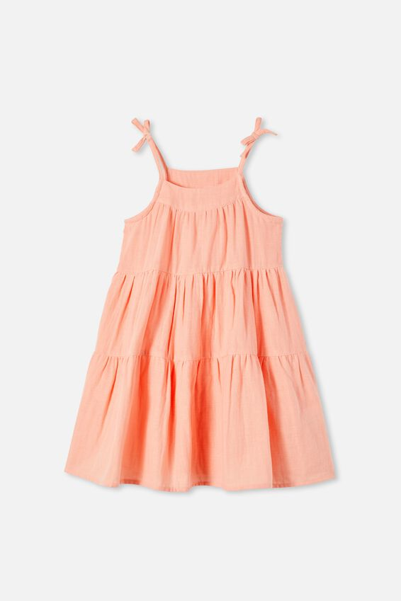 Hope Sleeveless Dress, MUSK MELON