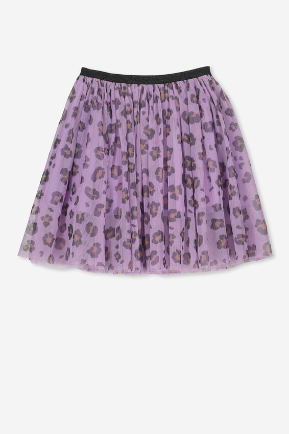 Trixiebelle Tulle Skirt, SWEET LILAC ANIMAL