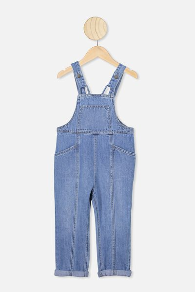 Gabby Denim Overall, WEEKEND WASH