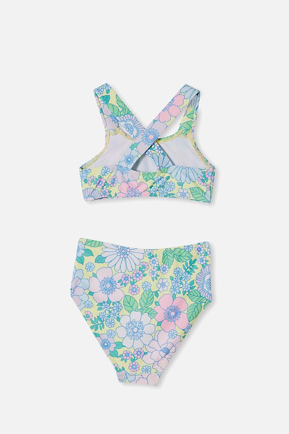 Penny Bikini, LEMON DROP/RETRO FLORAL