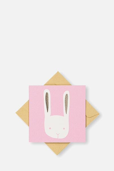Gift Cards, PINK BUNNY