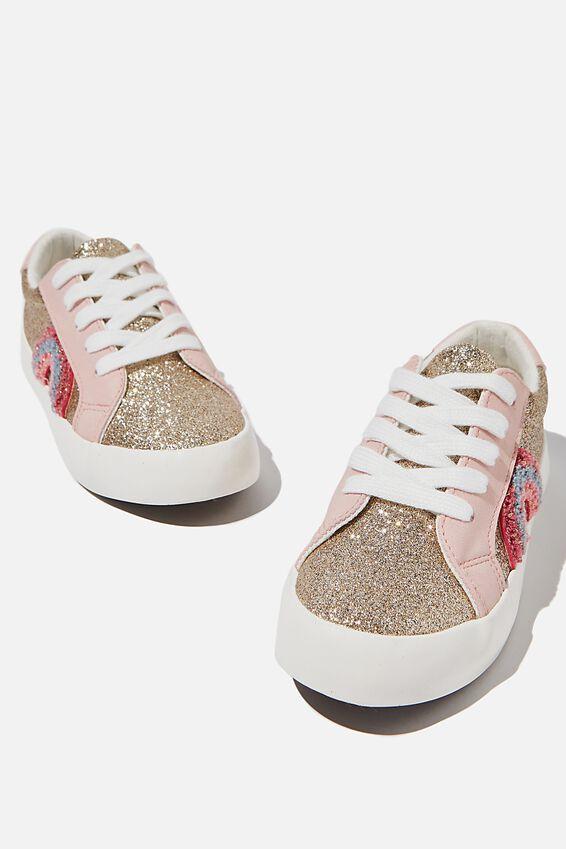 Tibi Sneaker, GOLD BLUSH RAINBOW