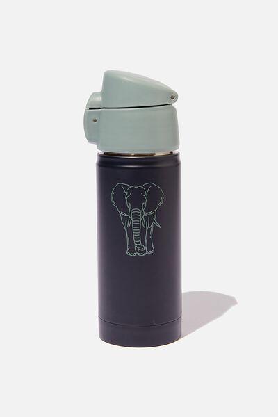 Metal Drink Bottle, PHANTOM WILDLIFE