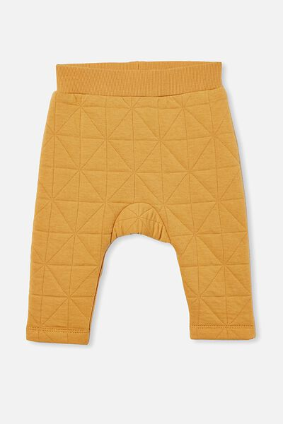 Emerson Quilted Trackpant, VINTAGE HONEY