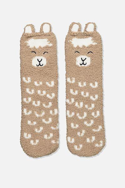 Slipper Sock, LLAMA
