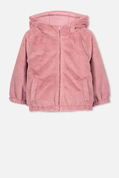 Clara Reversible Puffer, SWEET BLUSH