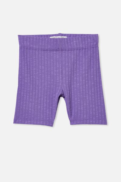 Hailey Bike Short, ULTRA VIOLET RIB