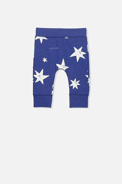 Mini Legging, INK BLUE/LITTLE STAR
