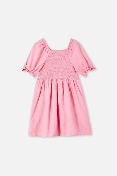 Lillie Short Sleeve Dress, CALI PINK