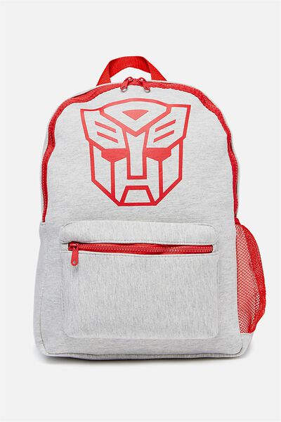 License Backpack, GREY MARLE TRANSFORMERS