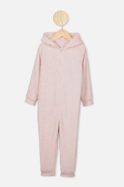 Girls Novelty All In One, CRYSTAL PINK BUNNY