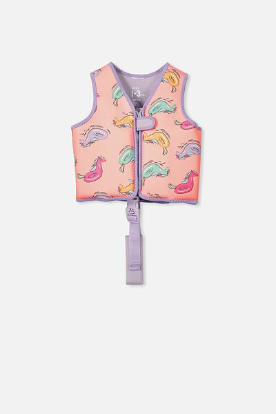 Swim Vest, UNICORN