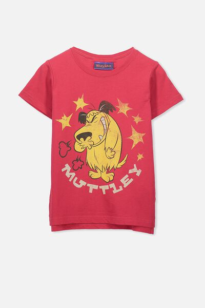 Short Sleeve Licence1 Tee, RIVER RED/MUTTLEY