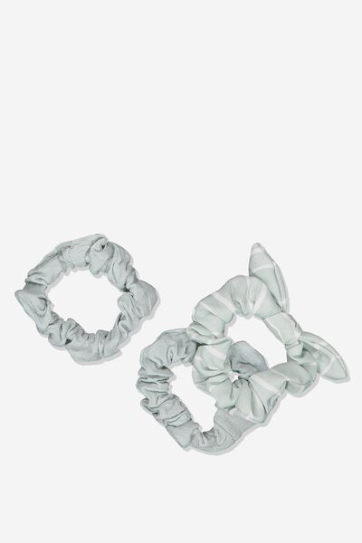 Mini Scrunchie, EGGSHELL BLUE