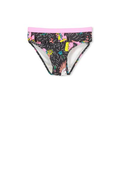 Pippa Bikini Bottom, PHANTOM/MULGAR UNICORN AND FLOWERS
