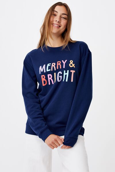 Family Crew, NAVY/MERRY AND BRIGHT