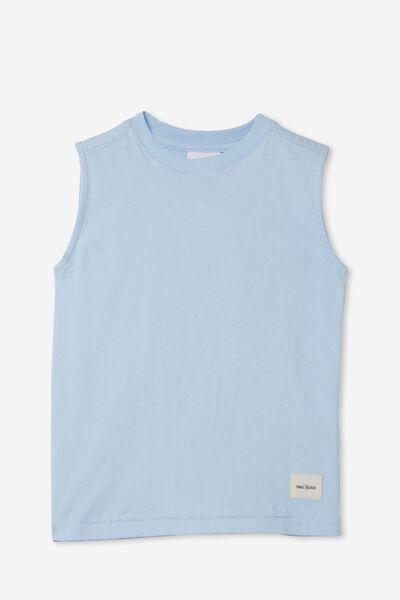 Otis Muscle Tank, WHITE WATER BLUE