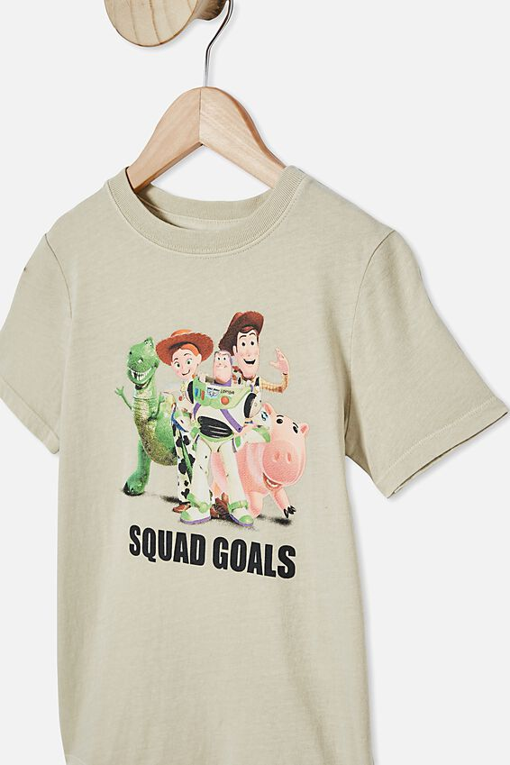 Co-Lab Short Sleeve Tee, LCN DIS TOY STORY SQUAD/RAINY DAY SNOW