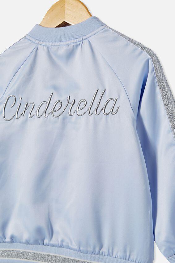Cinderella Bomber Jacket, LCN DIS MORNING BLUE/CINDERELLA