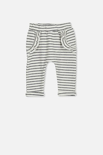 Shelby Trackpant, VANILLA/PEACOAT STRIPE
