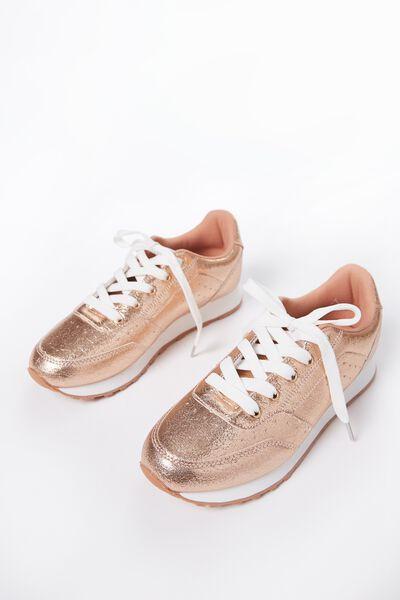 Free Gigi Sneaker, ROSE GOLD