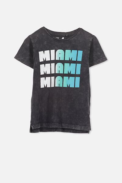 Max Short Sleeve Tee, MIAMI PHANTOM SFW/SIS