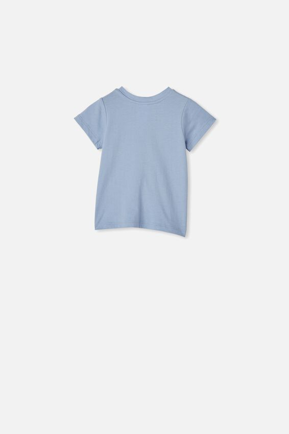 Jamie Short Sleeve Tee, POWDER PUFF BLUE/#NOFILTER