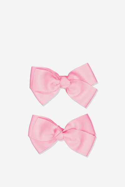 Big Bow Clips, AMORE PINK