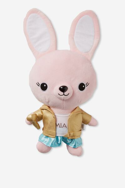 30Cm Medium Plush Toy, MIA ROCKSTAR