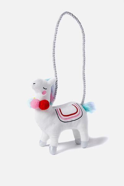 Plush Animal Bag, LLAMA