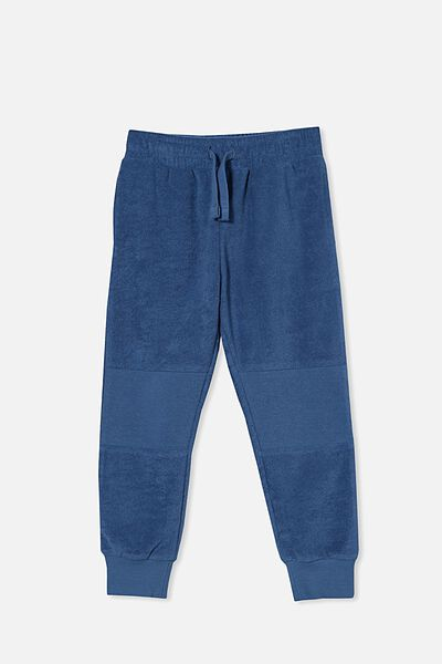 Marlo Trackpant, PETTY BLUE/TERRY TOWELLING
