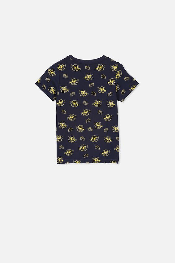 Max Short Sleeve Tee, INDIAN INK/RAT AND CHEESE