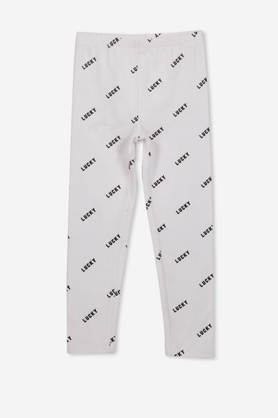 Huggie Tights, WHITE/LUCKY