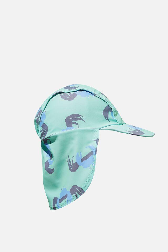 Swim Hat, MINT BREEZE CRAB