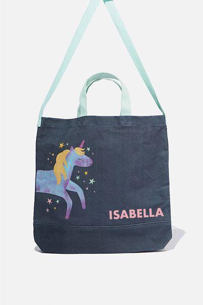 Personalised Tote Bag, UNICORN
