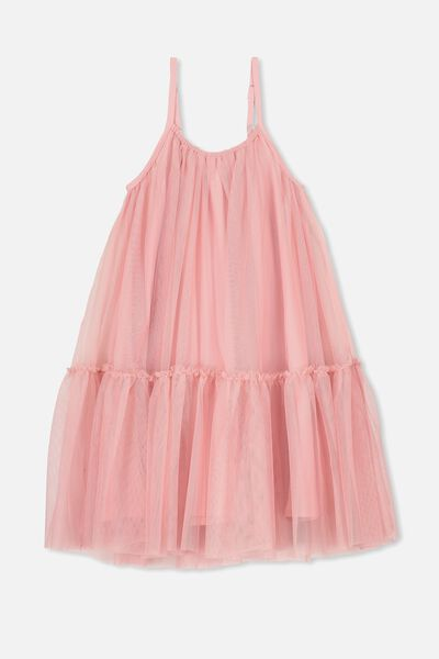 Iggy Dress Up Dress, DUSTY ROSE