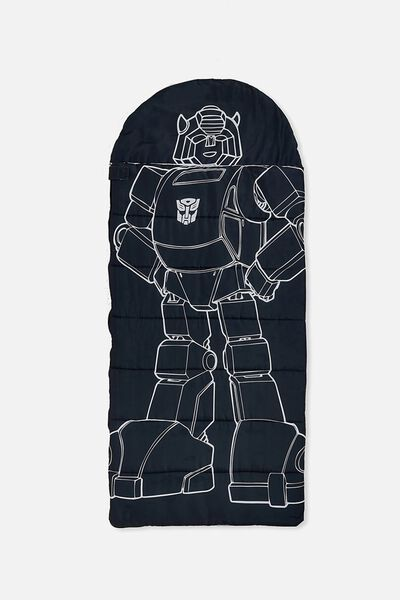 Kids Novelty Sleeping Bag, LCN TRANSFORMERS BUMBLEBEE