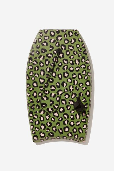 Kids Boogie Board, GREEN ANIMAL PRINT