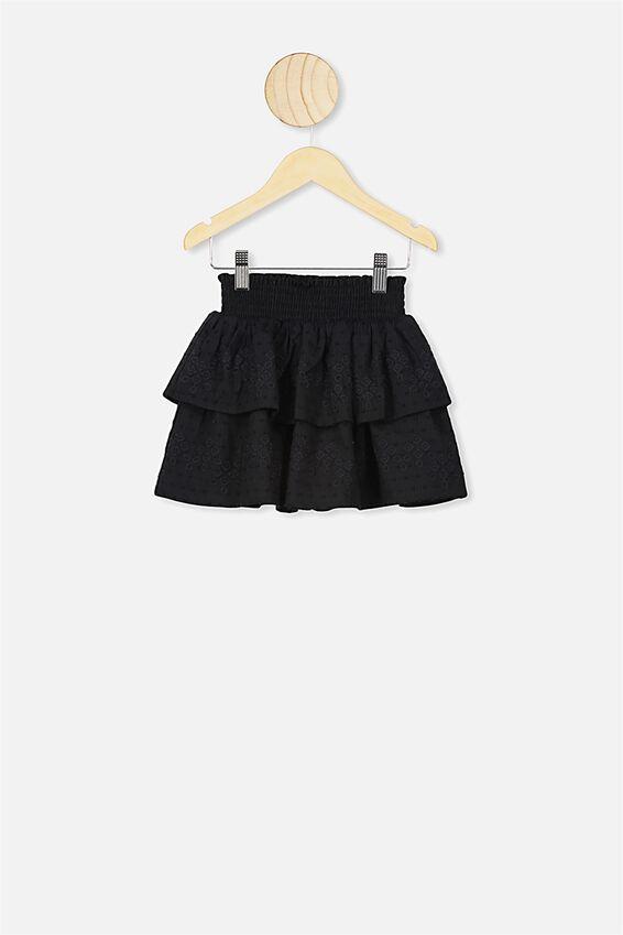 Summer Skirt, BLACK