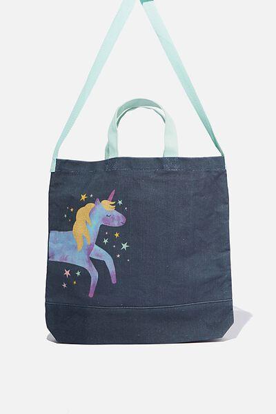 Printed Tote Bag, UNICORN