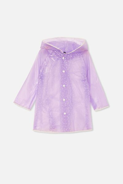 Cloudburst Raincoat, PALE VIOLET PUFF DAISY