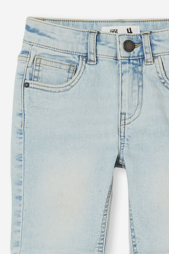 Slim Fit Short, BELLS LIGHT BLUE