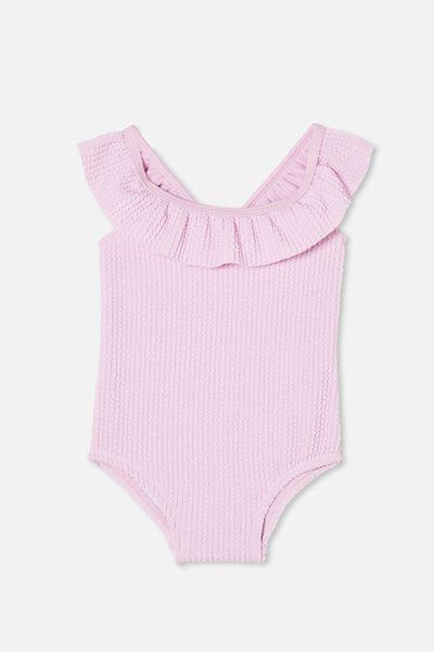 Lolita Frill Swimsuit, PALE VIOLET