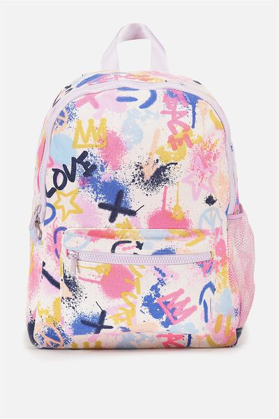 School Backpack, GRAFITTI ART