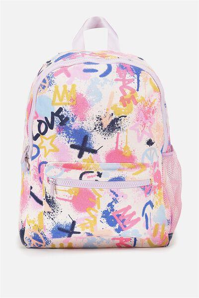 School Backpack, GRAFITTI ART