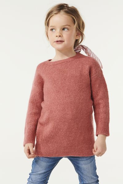 Brinley Knit Jumper, RUSTY BLUSH MARLE