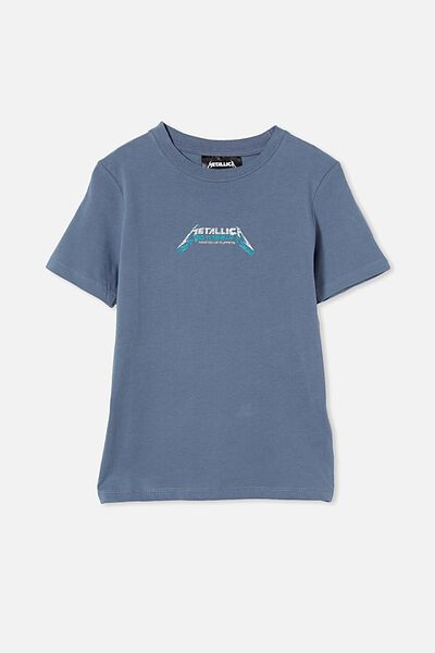 Co-Lab Short Sleeve Tee, LCN PRO STEEL / METALLICA