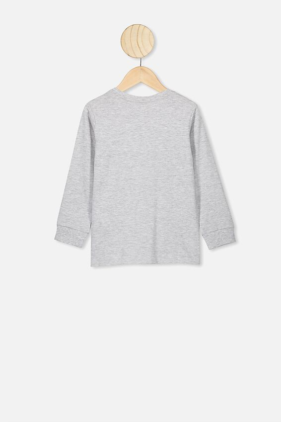 Core Long Sleeve Tee, SUMMER GREY MARLE